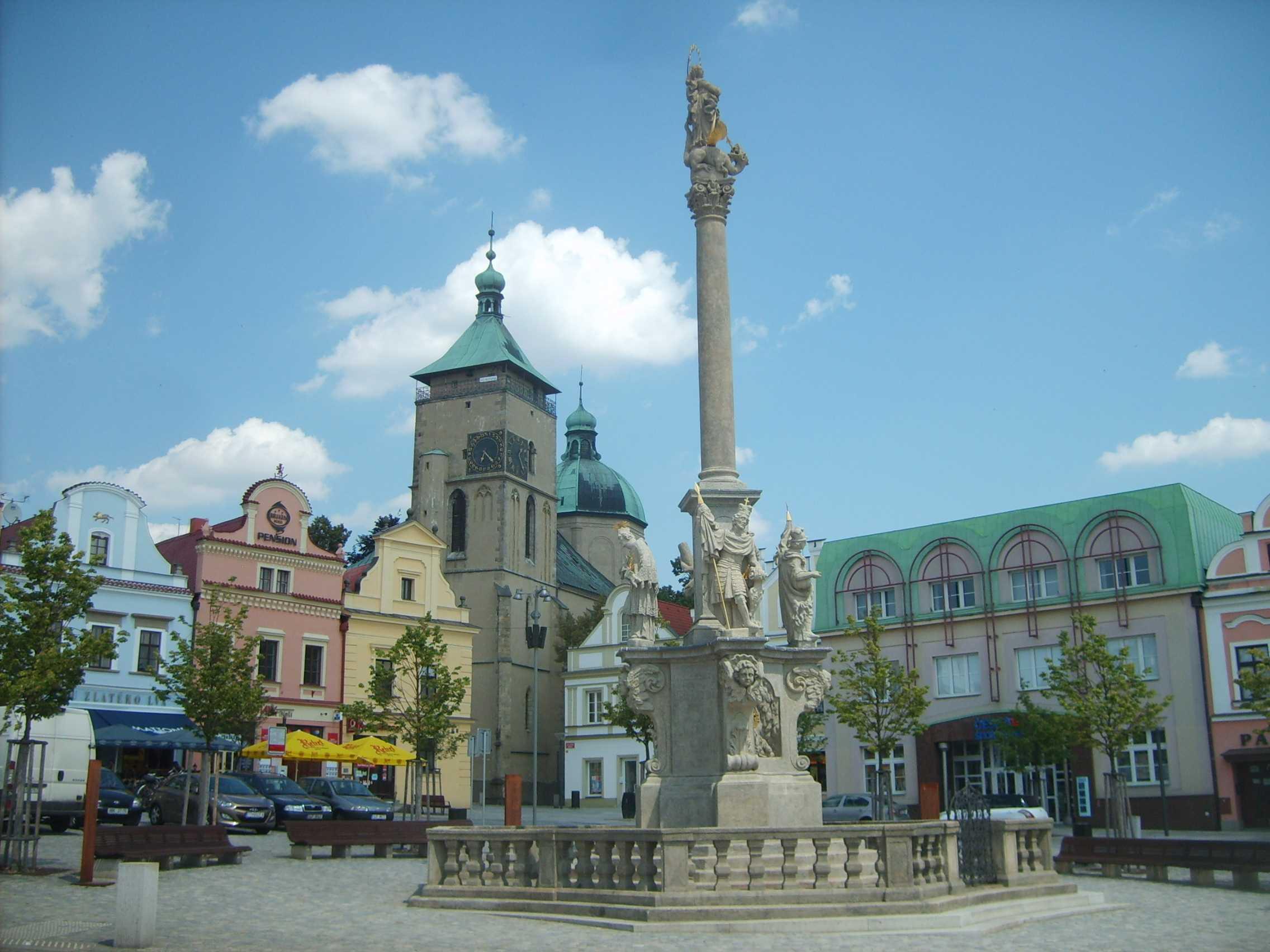Havlíčkův Brod - Mariánský sloup