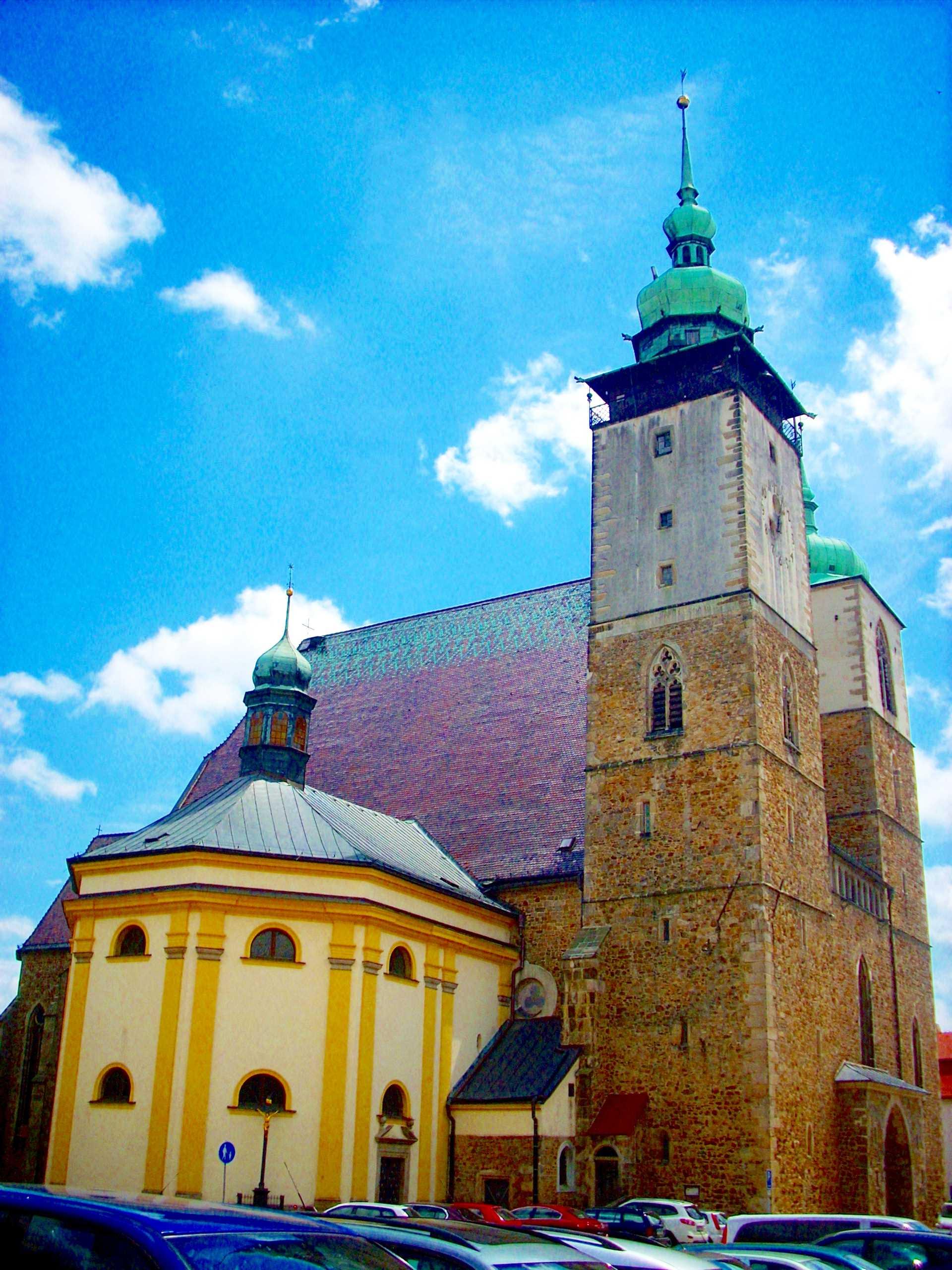 Jihlava - kostel Jakuba