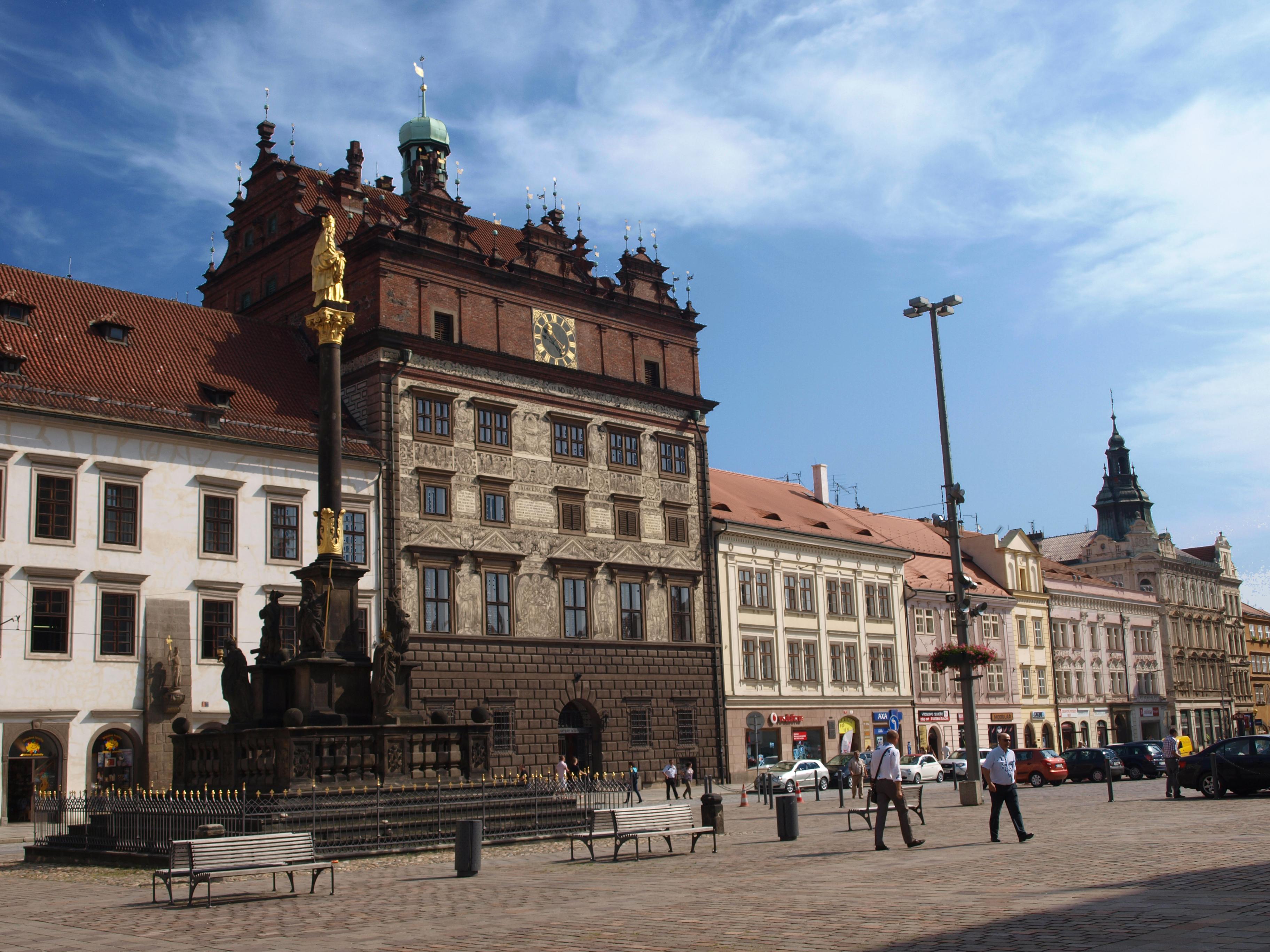 Plzeň radnice