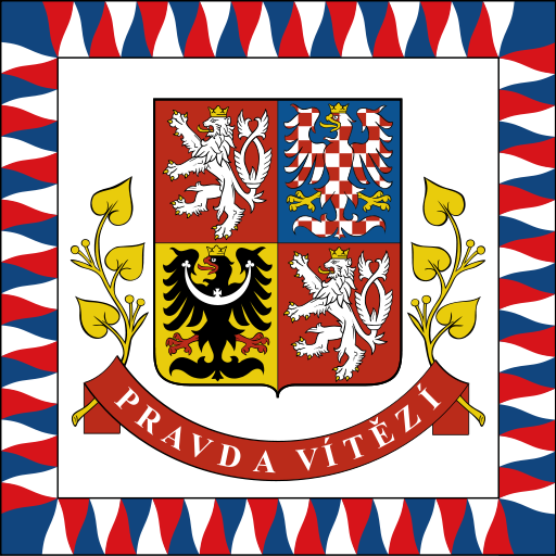 vlajka prezidenta kresba