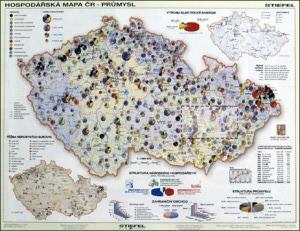 mapa hospodarska