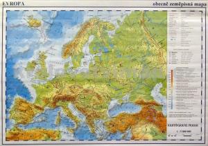 mapa obecne zemepisna