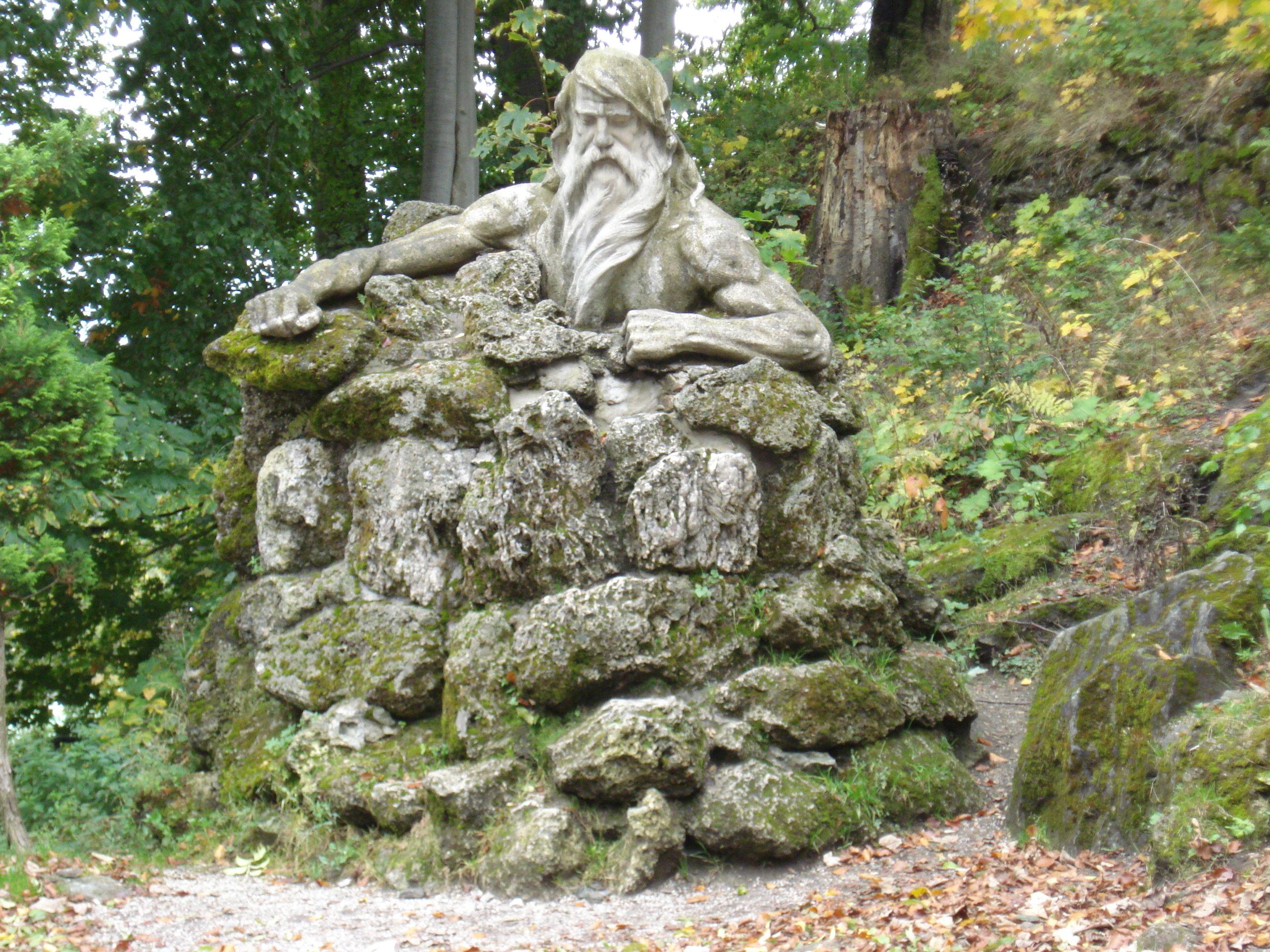 Krakonos pomnik Janske Lazne