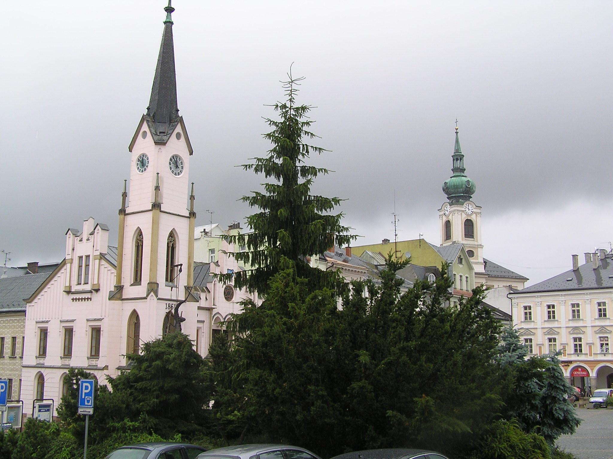 Trutnov náměstí
