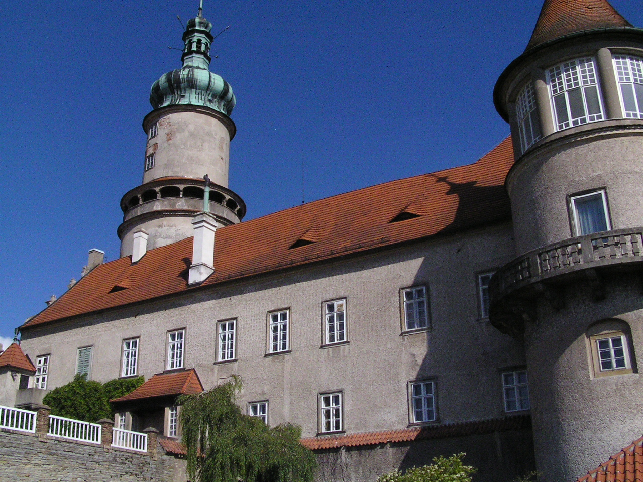 zámek - Nové město nad Metují