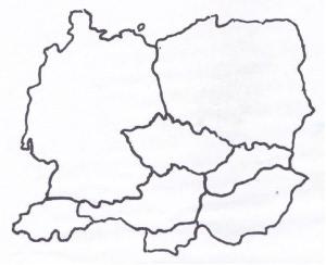 ČR sousední státy