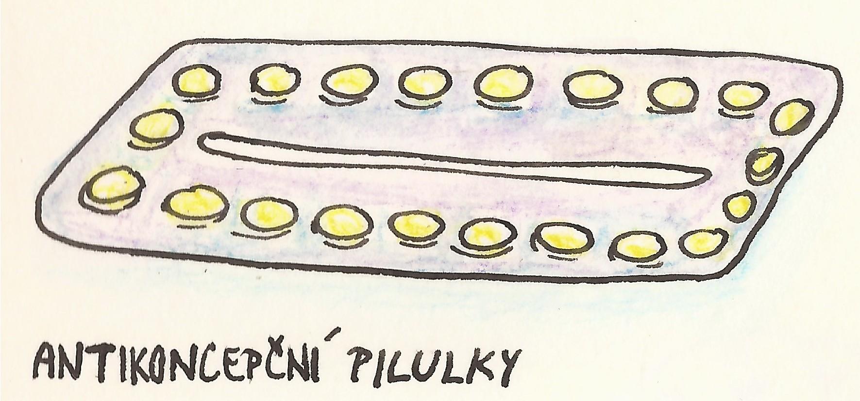 antikoncepce - pilulky