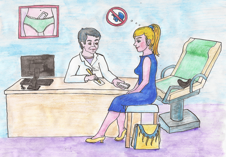navsteva u  gynekologa2