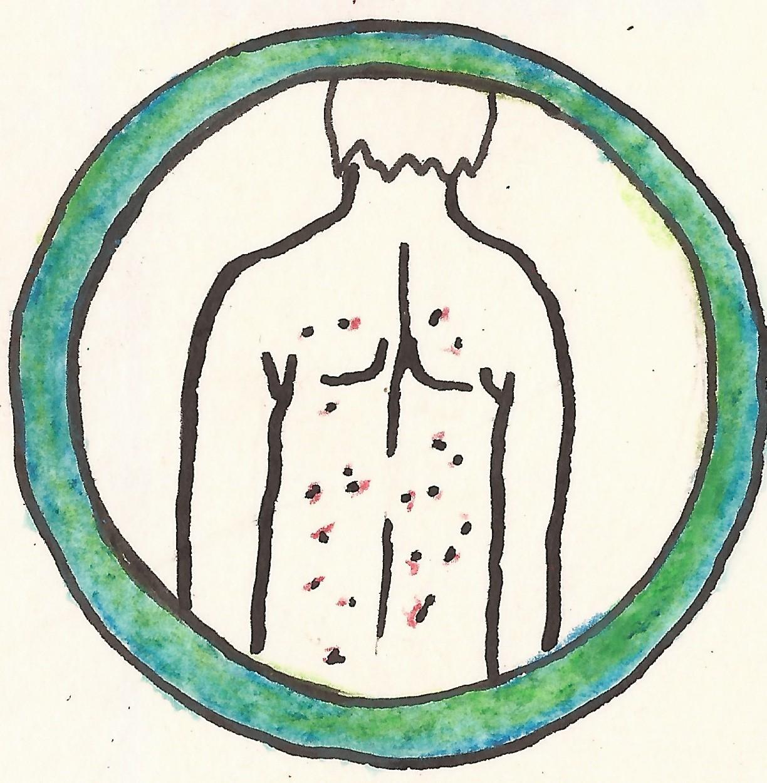 piktogram vyrazka zelene